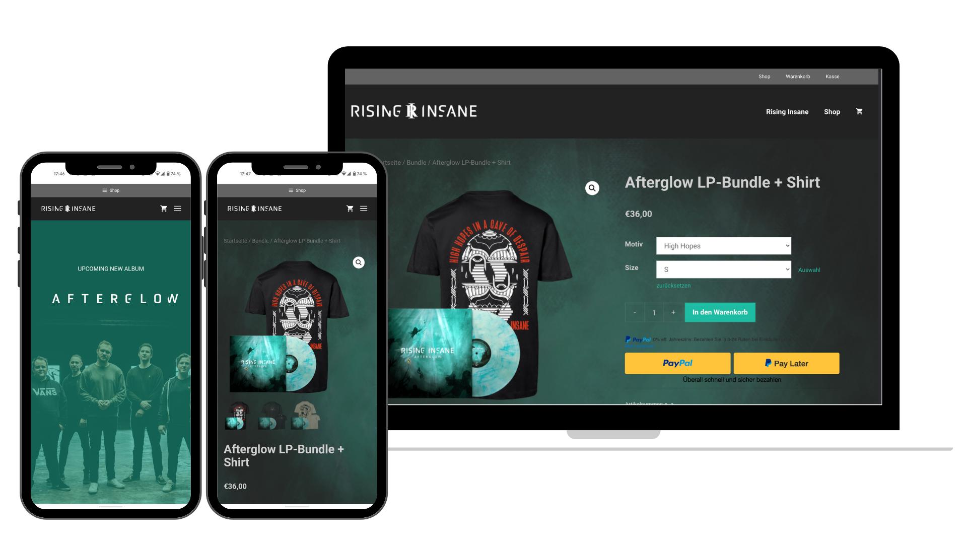 Website Rising Insane